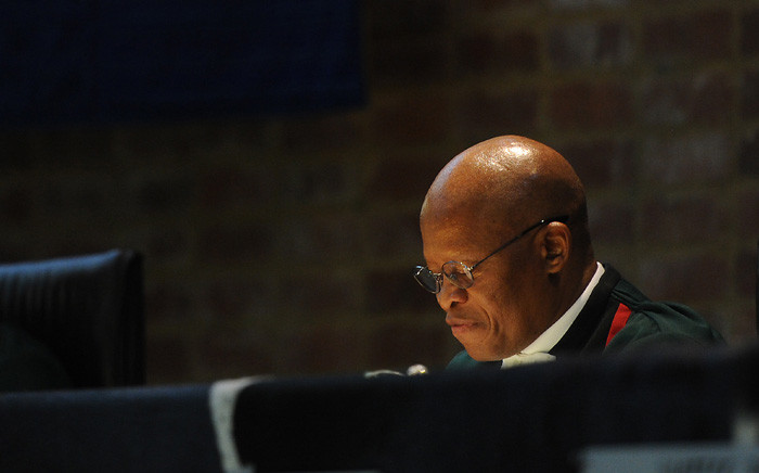 Chief Justice Mogoeng Mogoeng delivers the judgment by the Constitutional Court on the Nkandla matter on 31 March 2016. Picture: Supplied.