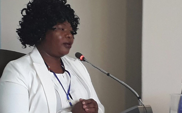 Nursing manager Dikeledi Manaka. Picture: Masego Rahlaga/EWN.