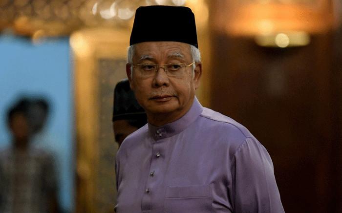 FILE: Malaysia's former prime minister Najib Razak. Picture AFP