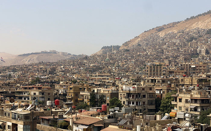 FILE: Syria's capital city of Damascus. Picture: AFP.