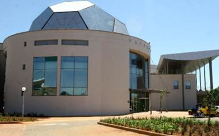 The newly-constructed SAFA House situated on the perimetre of Soccer City in Johannesburg. Picture: Werner Beukes/SAPA
