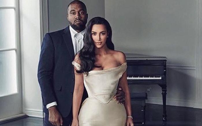 Kanye West and Kim Kardashian West. Picture: @kimkardashian/instagram.com