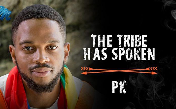 Survivor SA's PK. Picture: @Survivor_SA/Twitter