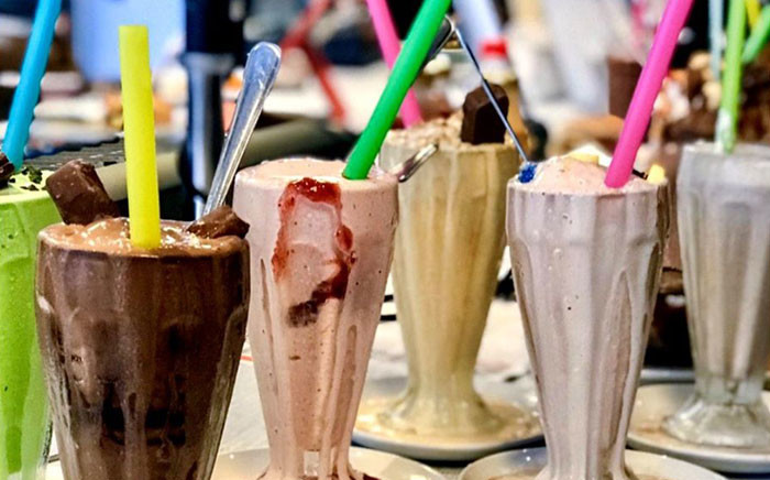 Milkshakes served at Gibson's Gourmet Burgers & Ribs in Cape Town. Picture: Gibson's Gourmet Burgers & Ribs/facebook.com