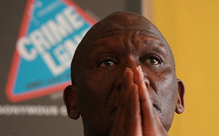 Suspended National Commissioner of Police, Bheki Cele. Picture: Taurai Maduna/Eyewitness News