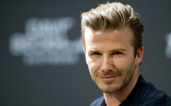 FILE:  David Beckham. Picture: AFP.