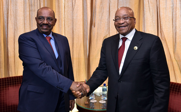 President Jacob Zuma met with President Omer Al-Bashir of the Republic of the Sudan to discuss strengthening relations between South Africa and Sudan. Picture: GCIS.