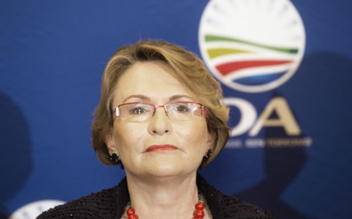 Helen Zille has again called for the army to be deployed to gang-infested communities. Picture: AFP.