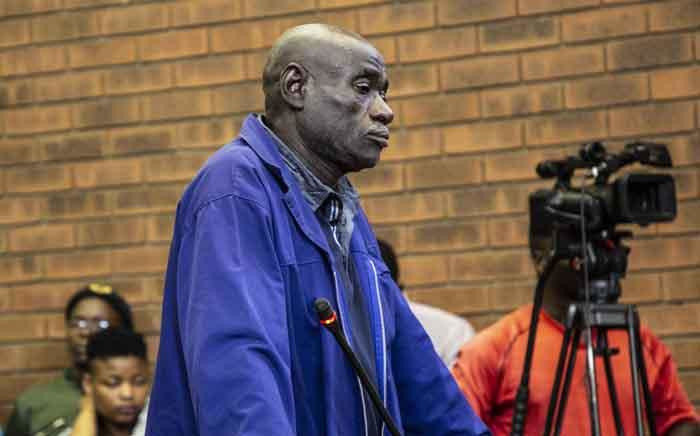 FILE: Fita Khuphe appeared in Lenasia Magistrates Court for allegedly killing seven people in Vlakfontein. Picture: Abigail Javier/EWN