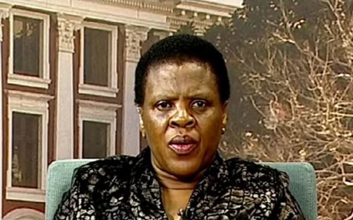 FILE: Chairperson of the Portfolio Committee on Public Enterprises Zukiswa Rantho. Picture: YouTube screengrab