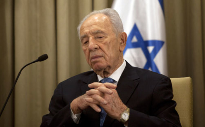 Shimon Peres. Picture: AFP.