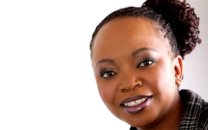 Journalist and broadcaster, Siki Mgabadeli. Picture: SABC.