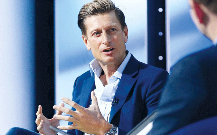 FILE: Crystal Palace chairman Steve Parish. Picture: cpfc.co.uk/