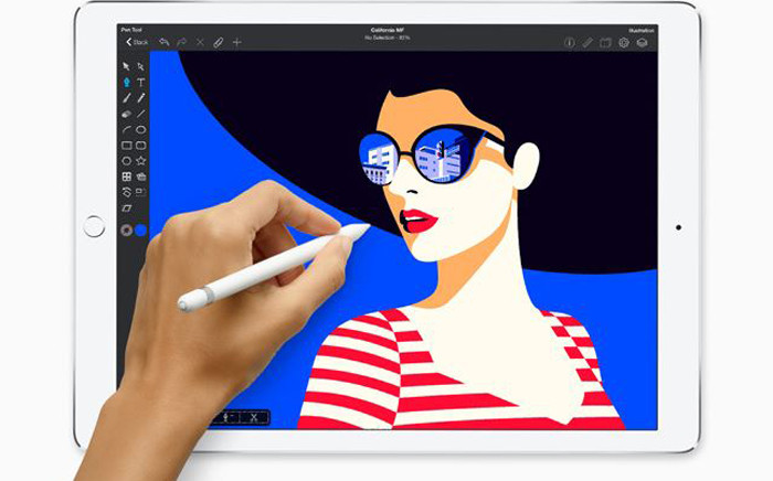 The new iPad that works with its Apple Pencil. Picture: www.apple.com