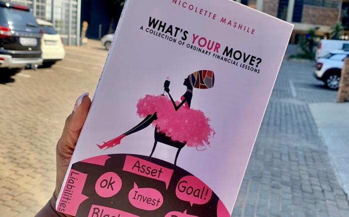 Nicolette Mashile's first book 'What's Your Move?' Picture: Nicolette Mashile.