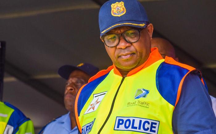 Transport Minister Fikile Mbalula. Picture: @MbalulaFikile/Twitter