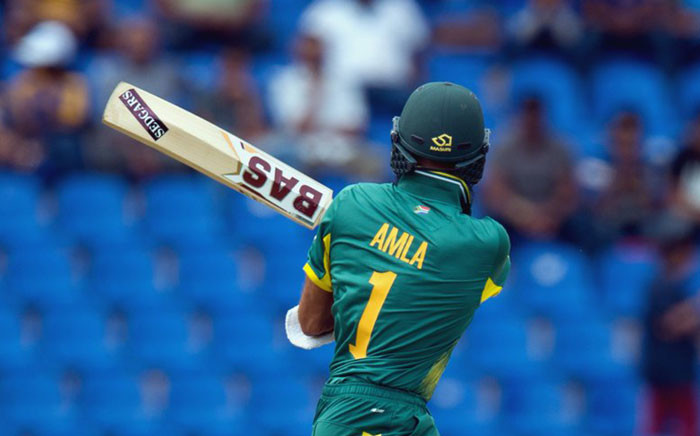 The Proteas' Hashim Amla. Picture: @OfficialCSA/Twitter