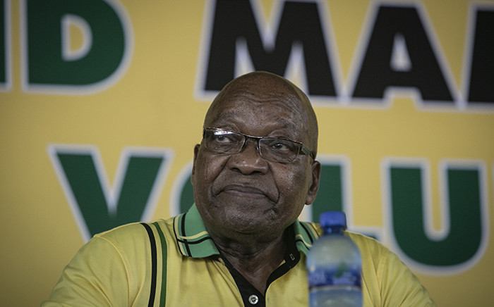 Former president Jacob Zuma at Ohlange Institute Rally in Inanda during the ANC's January 8th celebrations on 8 January 2018. Picture: Sethembiso Zulu/EWN
