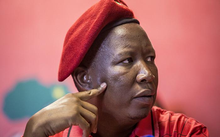 FILE: EFF leaders Julius Malema. Picture: Reinart Toerien/EWN.