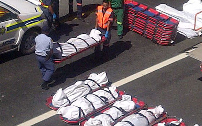 Atlantic Coaches crashed in the Hex River Valley killing 24 people on 15 March 2012. Picture: Renee de Villiers/EWN