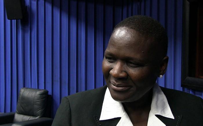 Suspended National Police Commissisoner Riah Phiyega. Picture: Reinart Toerien/EWN