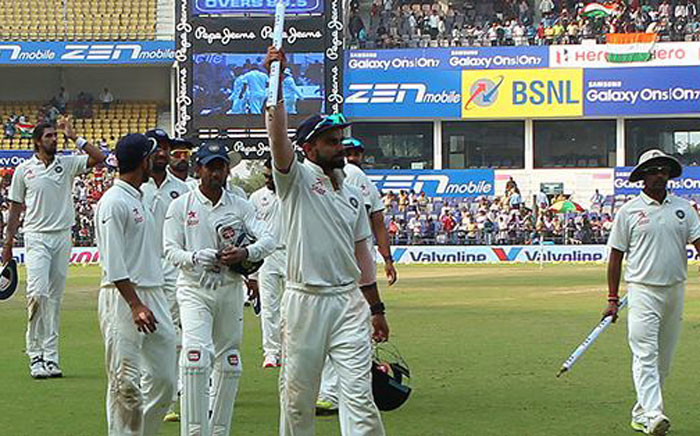 The Indian cricket team beat South Africa. Picture: Indian Cricket Team/Facebook.