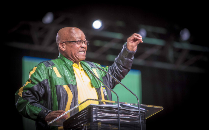 FILE: President Jacob Zuma on the final day of the ANC national policy conference on 5 July 2017. Picture: Thomas Holder/EWN.