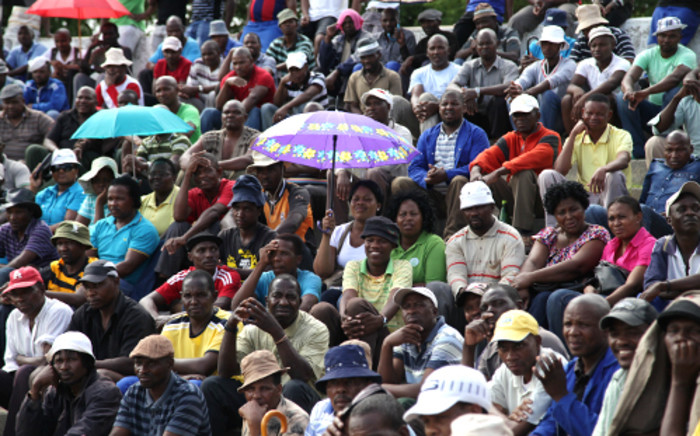 FILE:Amplats miners at the Komanani shaft have agreed to go back to work while workers Union AMCU negotiates with mine management regarding the possible retrenchment of 14 000 workers. Picture: Sebabatso Mosamo/EWN
