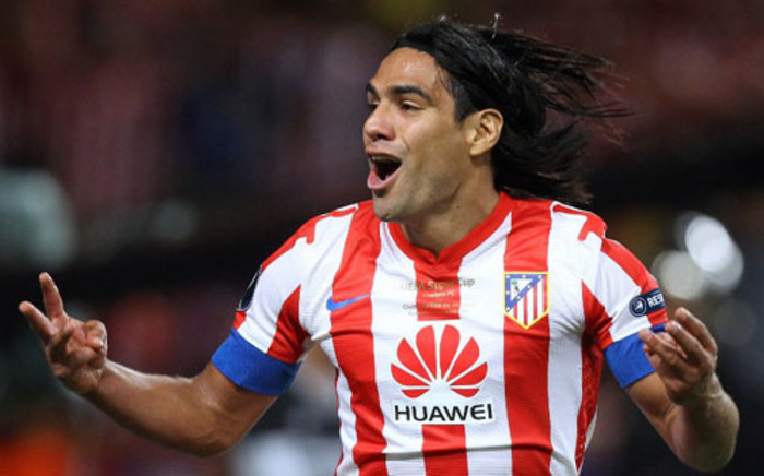 Atletico Madrid's Colombian forward Radamel Falcao. Picture: AFP.