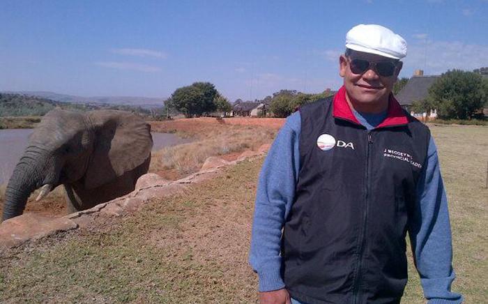 The DA's Gauteng leader, John Moodey. Picture: John Moodey Facebook