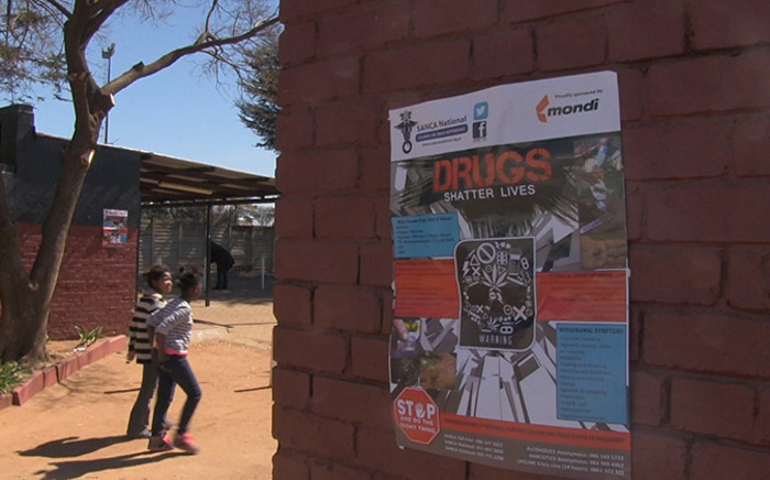 Two children arrive at the launch of the 'Enough is Enough' campaign for crime awareness which was launched in Reiger Park on 23 August 2014. Picture: Reinart Toerien/EWN
