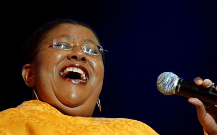 FILE: Sibongile Khumalo sings at the annual Cape Town International Jazz Festival in 2007. Picture: RODGER BOSCH/AFP
