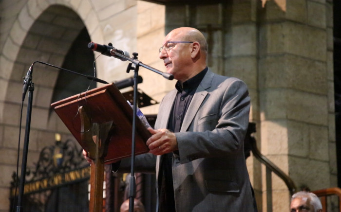 Former Finance Minister Trevor Manuel addresses and interfaith memorial service for Winnie Madikizela-Mandela at St George's Cathedral in Cape Town on 5 April 2018. Picture: Cindy Archillies/EWN