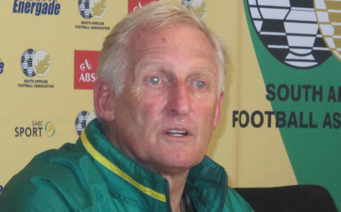 Bafana Bafana coach Gordon Igesund. Picture: Alicia Pillay/EWN