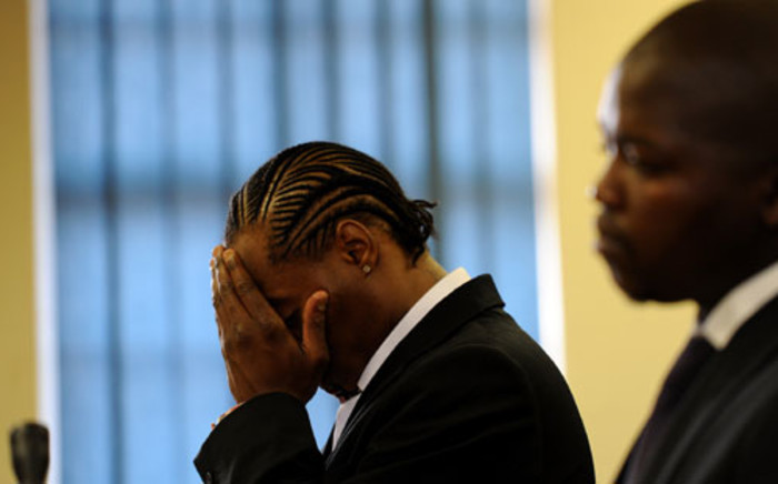 "File: Musician Molemo ""Jub Jub"" Maarohanye and Themba Tshabalala were yesterday denied leave to appeal their convictions in the Protea Magistrate's Court. Picture: Werner Beukes/SAPA"