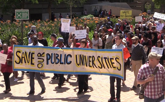 FILE: Wits management postpone assembly and students vow to keep Wits shut.Picture: Kgothatso Mogale.