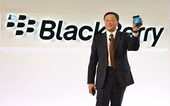 BlackBerry CEO John Chen. Picture: Official BlackBerry Facebook page.