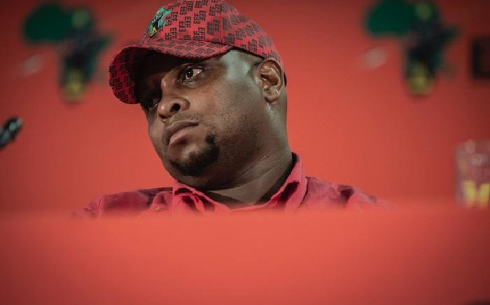 FILE: EFF deputy leader Floyd Shivambu. Picture: Sethembiso Zulu/Eyewitness News