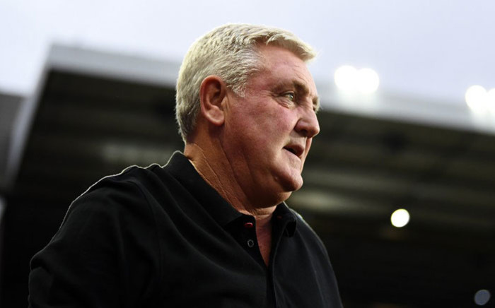 Steve Bruce. Picture: @NUFC/Twitter