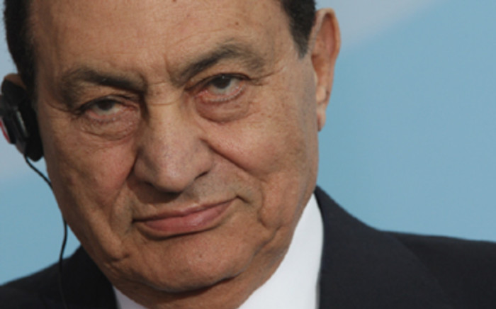 Former Egyptian leader Hosni Mubarak. Picture: AFP