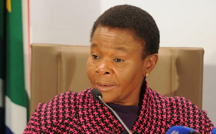 FILE: Social Development Minister Susan Shabangu. Picture: GCIS