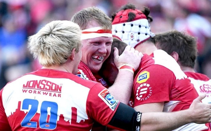 The Emirates Lions during their match against the Waratahs. Picture: Emirates Lions/Twitter