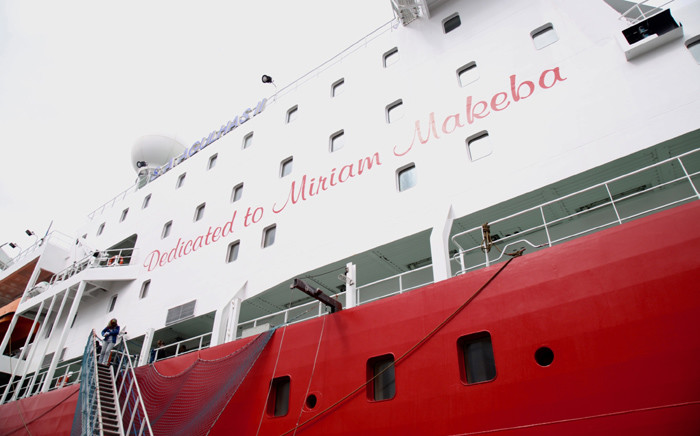 The SA Agulhas II is on its way to Durban as part of the second international Indian Ocean research expedition. Picture: Cindy Archillies/EWN.
