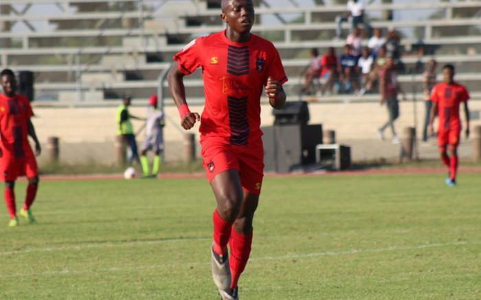 Striker Zakhele Lepasa. Picture: @TSGALAXYFC/Twitter