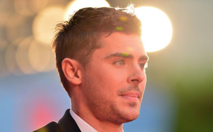 Actor Zac Efron. Picture: AFP.