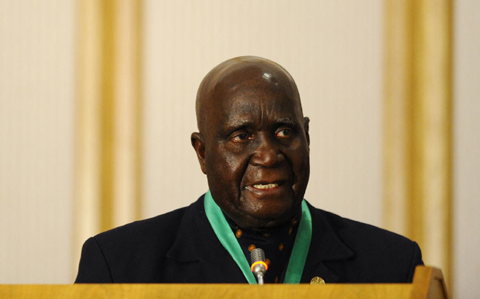 In this file photo taken on 17 August 2010, former and first Zambian president Kenneth Kaunda delivers a speech during the closing ceremony of the 30th Southern African Development Community summit in Windhoek, Namibia. Picture: STEPHANE DE SAKUTIN/AFP