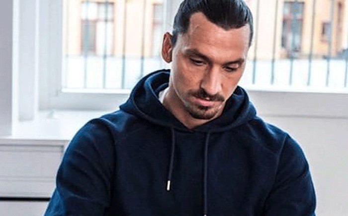 Zlatan Ibrahimovic. Picture: @Ibra_official/Twitter.