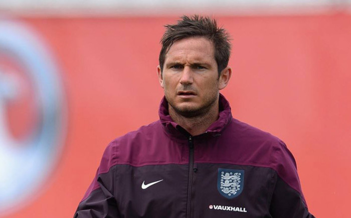 Chelsea Football Club and England midfielder Frank Lampard during the national team training camp in Miami, United States. Picture: Facebook.