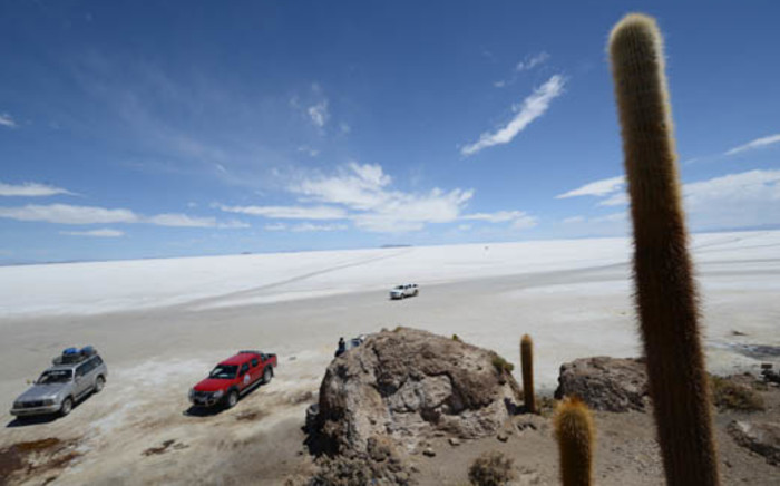 Salar Del Uyuni in Bolivia, one of the ecologically sensitive regions through which Dakar participants will race in 2014