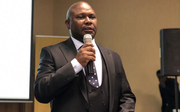 FILE: Late Joburg Mayor Jolidee Matongo. Picture: @Matongo_jolidee/Twitter